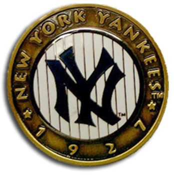 New York Yankees 1927 Press Style Double Pin