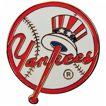 New York Yankees Logo Pin