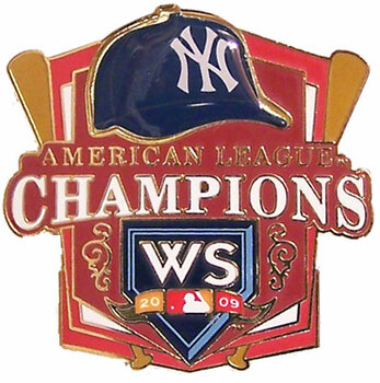 New York Yankees 2009 AL Champs Pin #2