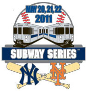 Yankees vs. Mets 2011 Subway Series Pin