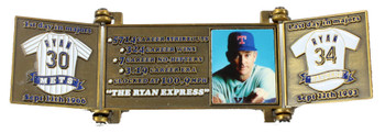 Nolan Ryan Hall of Fame Career Pin - Limited Edition 1,999