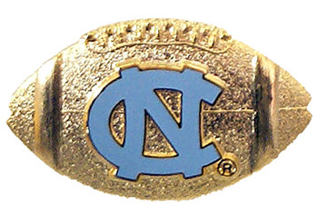 North Carolina Football Pin