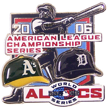A's vs. Tigers 2006 League Head to Head Pin