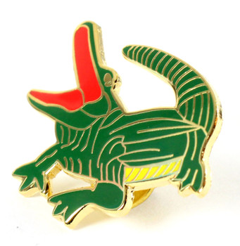 Alligator Lapel Pin