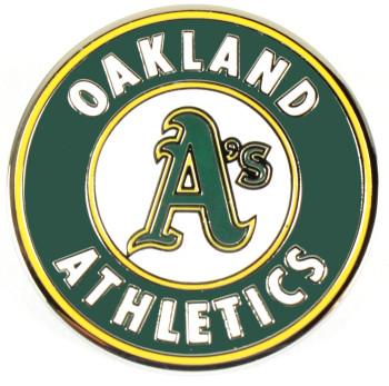 Oakland A's Logo Pin