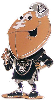 Oakland Raiders Bobble Head