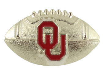 Oklahoma Football Pin