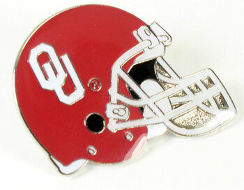 Oklahoma Sooners Helmet Pin