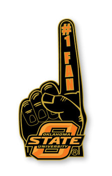 Oklahoma State #1 Fan Pin