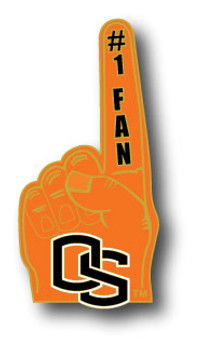 Oregon State #1 Fan Pin