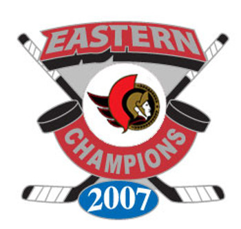 Ottawa Senators 2007 Eastern Conference Champs Pin