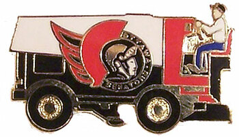 Ottawa Senators Zamboni Pin