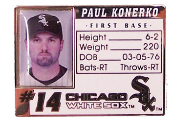 Paul Konerko Photo ID Pin