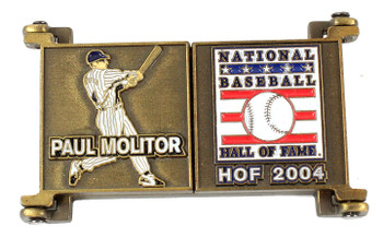 Paul Molitor Hall of Fame Career Pin - Limited Edition 2,004