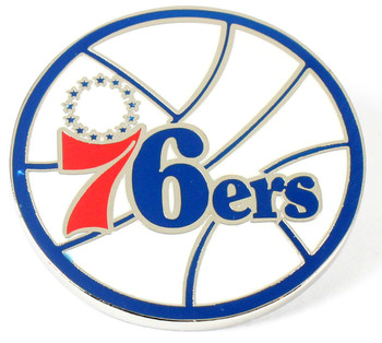 Philadelphia 76ers Vintage Logo Pin - 1978