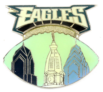 Philadelphia Eagles City Pin