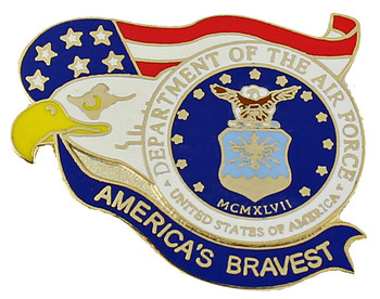 America's Bravest U.S. Air Force Pin