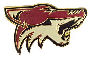 Arizona Coyotes Primary Logo Pin