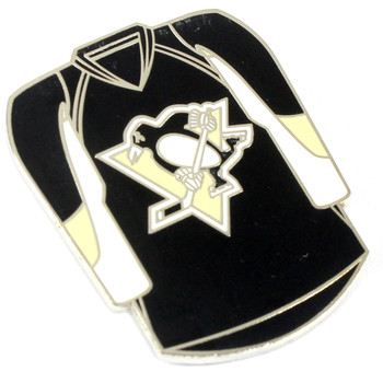 Pittsburgh Penguins Jersey Pin