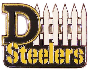 Pittsburgh Steelers D-Fence Pin