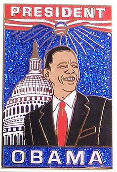 President Barack Obama Lapel Pin