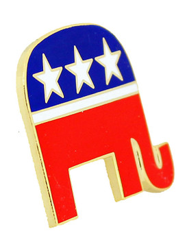 Republican Party Lapel Pin