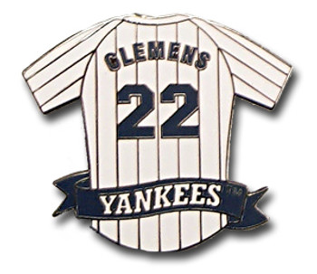 Roger Clemens Jersey Pin
