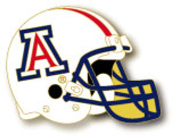 Arizona Football Helmet Pin