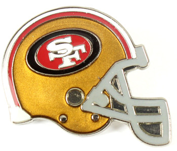 San Francisco 49ers Helmet Pin