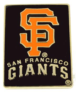 San Francisco Giants Primary Plus Logo Pin