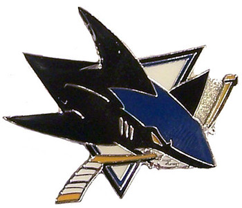 San Jose Sharks Logo Pin