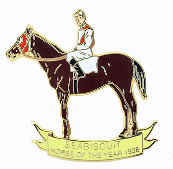 Seabiscuit 1938 Horse Of The Year Pin