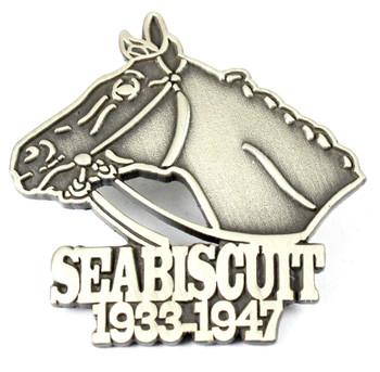 Seabiscuit Antique Pin 1933 - 1947