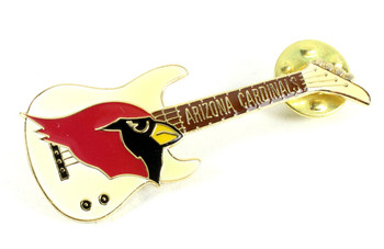 Arizona Cardinals Guitar Pin