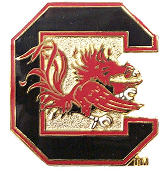 South Carolina Logo Pin