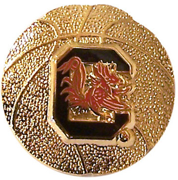South Carolina Basketball Pin