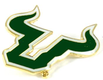 South Florida Univerity Logo Pin