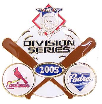 St. Louis Cardinals vs. Padres 2005 Division Series Pin