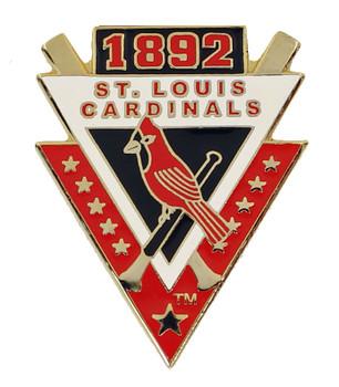 St. Louis Cardinals 1892 Pin - First Year In NL