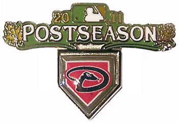 Arizona Diamondbacks 2011 Post Season Pin