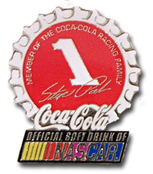 Steve Park #1 Coke Cap Pin