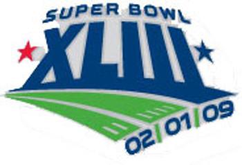 Super Bowl XLIII (43) Logo Pin