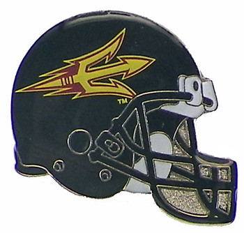 Arizona State Football Helmet Pin