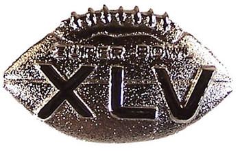 Super Bowl XLV (45) Game Ball Pin