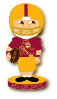 Arizona State Football Bobble Head Pin