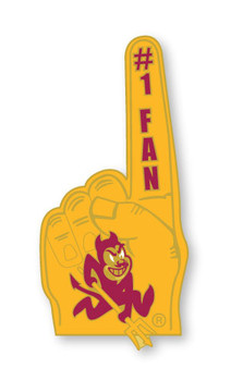 Arizona State #1 Fan Pin