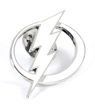 Tampa Bay Lightning Cut-Out Logo Pin