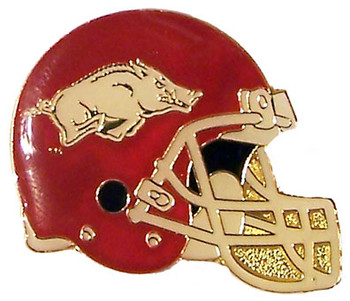 Arkansas Helmet Pin