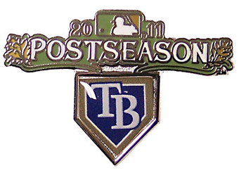 Tampa Bay Rays 2011 Post Season Pin