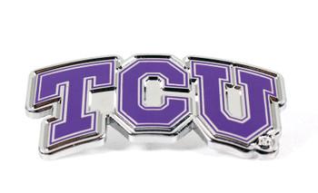 Texas Christian University Logo Pin
